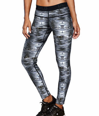 Image of Duofold by Champion Brushed Back Women's Pants (Prints) KCB4P