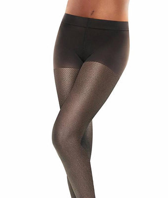 4708784dde9 Black Tights Hanes Perfect Nudes Sheer Micronet Short Tummy Control Hosiery  PN0003