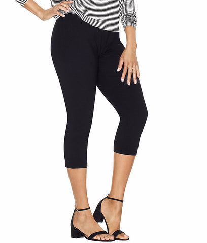 Just My Size By Hanes Stretch Cotton Womens Capri Leggings Q88908