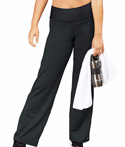 Champion Womens Plus Absolute Semi-fit Pants With Smoothtec Band Qm0981