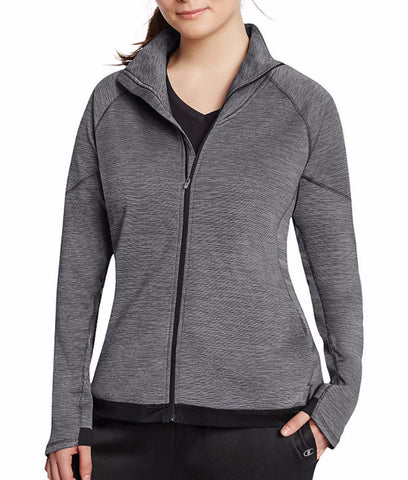 Champion Women's Plus Tech Fleece Full Zip Jacket QW1039