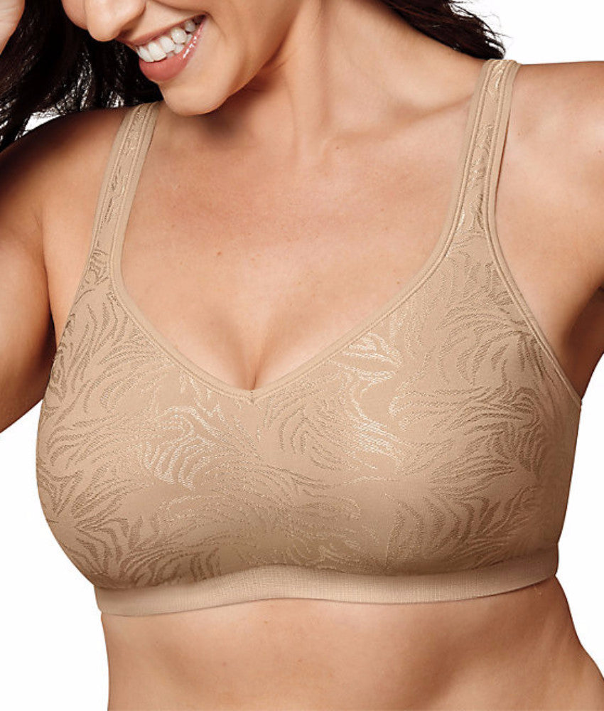 Playtex 18 Hour Seamless Cool Comfort Wire-Free Bra US3000 - 36B   Nude  Zebra aa7973020