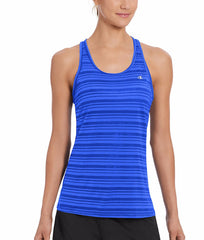 Flight Blue Champion Vapor® Select Women's Tank W50066 image 2 - Brayola