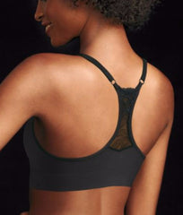 Maidenform Fit to Flirt Seamless Lace T-Back Bra DM7968 image 3 - Brayola