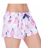 Munki Munki Rose Satin Petal Sleep Shorts M01870 image 4 - Brayola