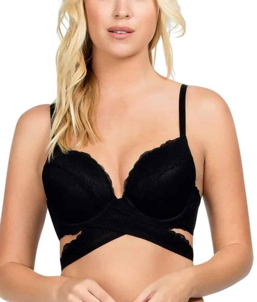 MOD by Parfait - Amour Cross Plunge Padded Bra