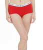 Apple Red Tommy Hilfiger Cotton Lounge Logo Boyshort R13T017 image 2 - Brayola