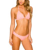 B Swim Deep Sea Triangle Bikini Top U64 image 4 - Brayola