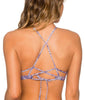 B Swim Waterfall High Neck Bikini Top U82 image 3 - Brayola