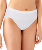 White Damask Bali Comfort Revolution® Hi-Cut Brief 303J image 2 - Brayola