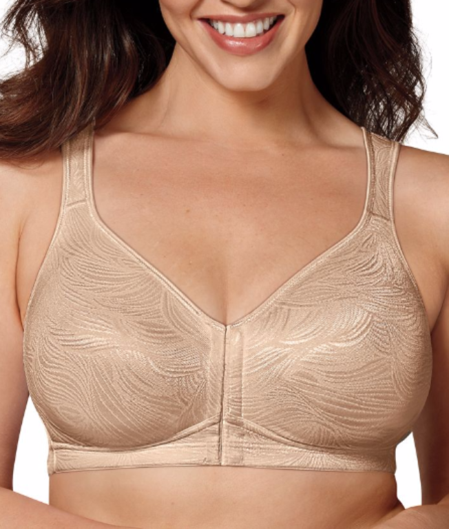 a0920513a47 ... Playtex 18 Hour Posture Boost Wire-Free Bra E525 image 3 - Brayola