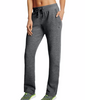 Granite Heather Champion Fleece Open Bottom Pants M1064 image 2 - Brayola