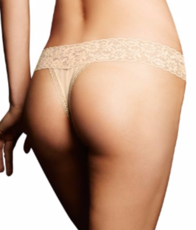 cff9d9298 ... Maidenform All Lace Thong 40118 image 3 - Brayola