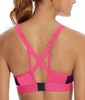 Champion The Curvy Printed Sports Bra B9373P image 3 - Brayola