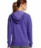 Champion Women's French Terry Full Zip Hoodie W0941 image 3 - Brayola