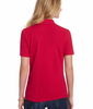 Hanes ComfortSoft Cotton Pique Women's Polo Shirt 35X image 3 - Brayola