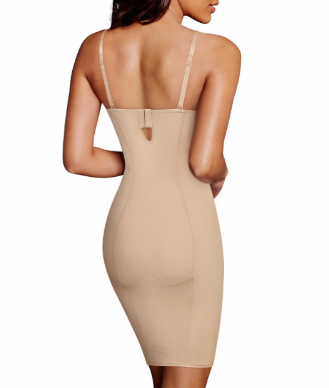 b785859f6 ... Maidenform Firm Foundations Lift Cup Slip DM1032 image 3 - Brayola
