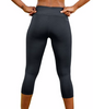 Champion Women's Absolute Capris With SmoothTec Band M0554 image 3 - Brayola