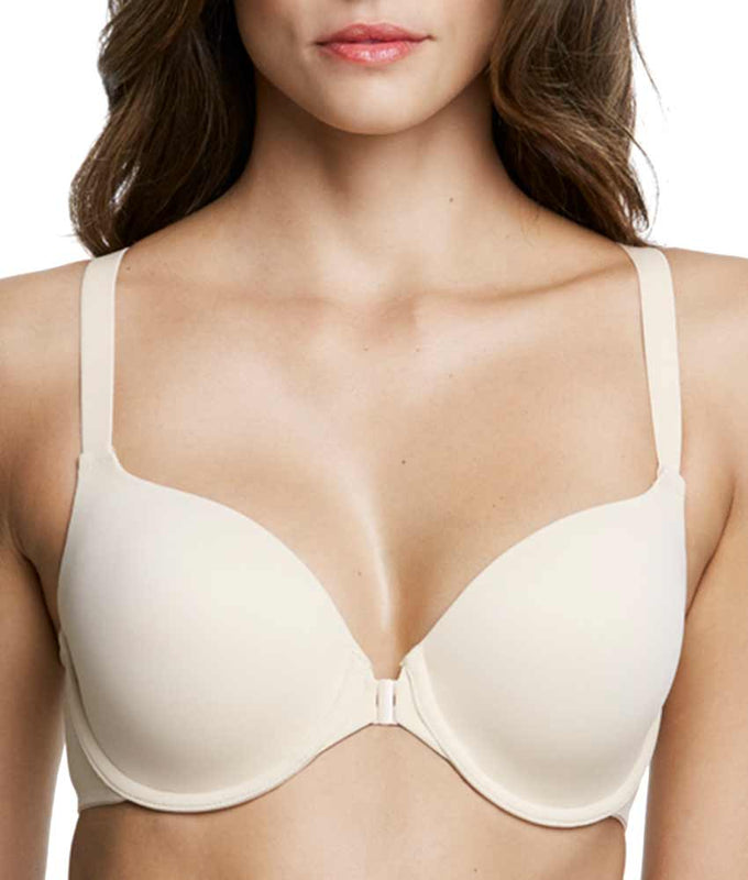 122c52e686 Dominique Talia Everyday Front Closure Racerback Bra 3900 image 1 - Brayola