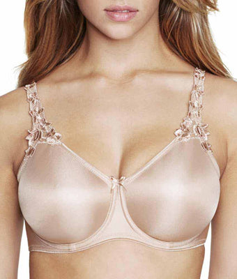 110cf9ff12 Nude Size 32B Dominique Mystique Everyday Seamless Minimizer Bra 7000