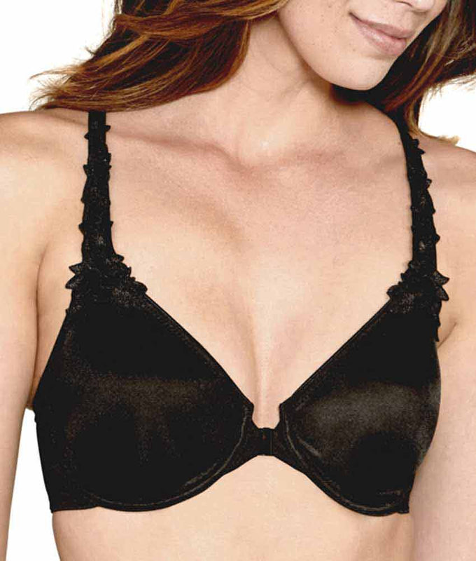 89955d9256 ... Dominique Meryl Everyday Front Closure Minimizer T-Back Bra 7050 image  3 - Brayola ...
