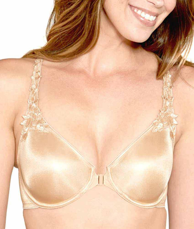 d734d91f4f ... Dominique Meryl Everyday Front Closure Minimizer T-Back Bra 7050 image  4 - Brayola ...