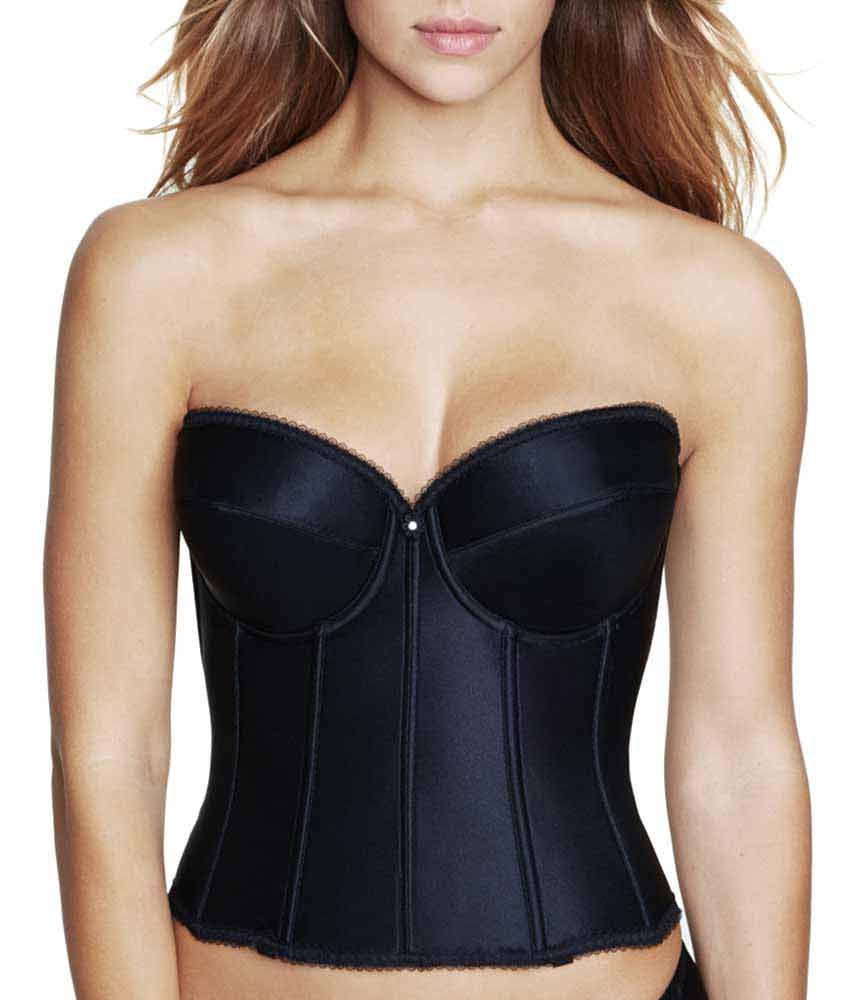 Dominique - Longline Low Back Bra