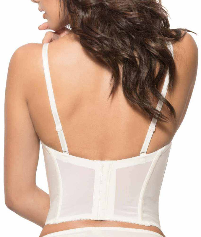 018cca48b1 ... Dominique Alana Low Back Convertible Strapless Longline Bra 7777 image  3 - Brayola ...