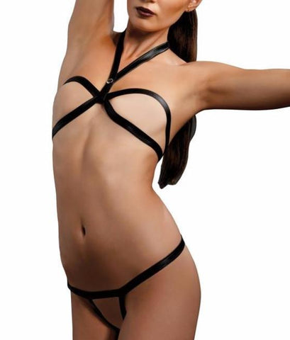 Leg Avenue 4Pc. Bra And Thong Set Ki4008