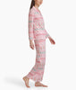 Karen Neuburger Long Sleeve Girlfriend Pajama Set RE0143 image 5 - Brayola