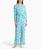 Sleep Angel Blue Karen Neuburger Long Sleeve Girlfriend Pajama Set RE0143 image 2 - Brayola