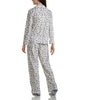 Karen Neuburger Minky Fleece Long Sleeved Girlfriend Pajama Set With Sock RZ0029 image 7 - Brayola
