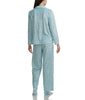 Karen Neuburger Minky Fleece Long Sleeved Girlfriend Pajama Set With Sock RZ0029 image 6 - Brayola