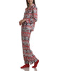 Karen Neuburger Minky Fleece Long Sleeved Girlfriend Pajama Set With Sock RZ0029 image 4 - Brayola