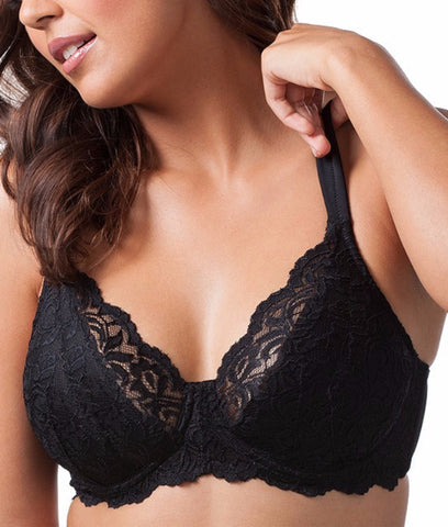 Leading Lady - Scalloped Lace Bra