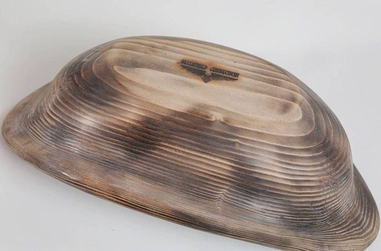 white pine wood bowl
