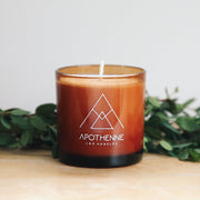 black saffron fig candle