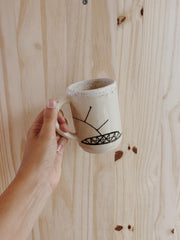 bridge ceramic mug