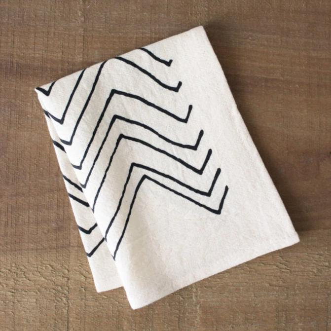 Organic Cotton Cocktail Napkins - Set of 2