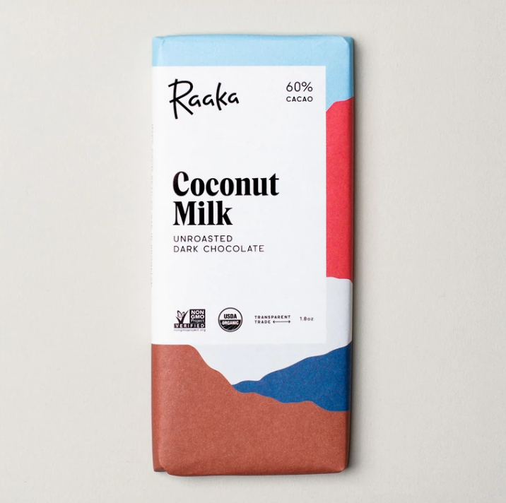 vegan coconut milk chocolate bar