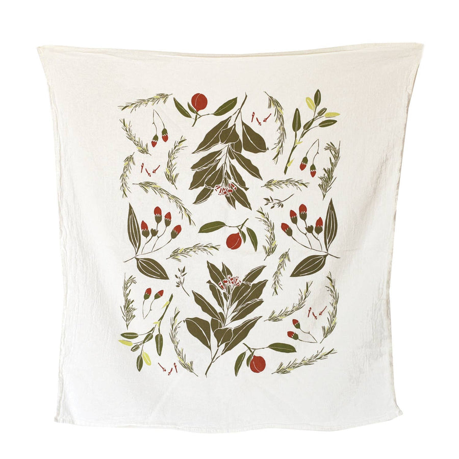 Festive Flavors Kitchen Towel