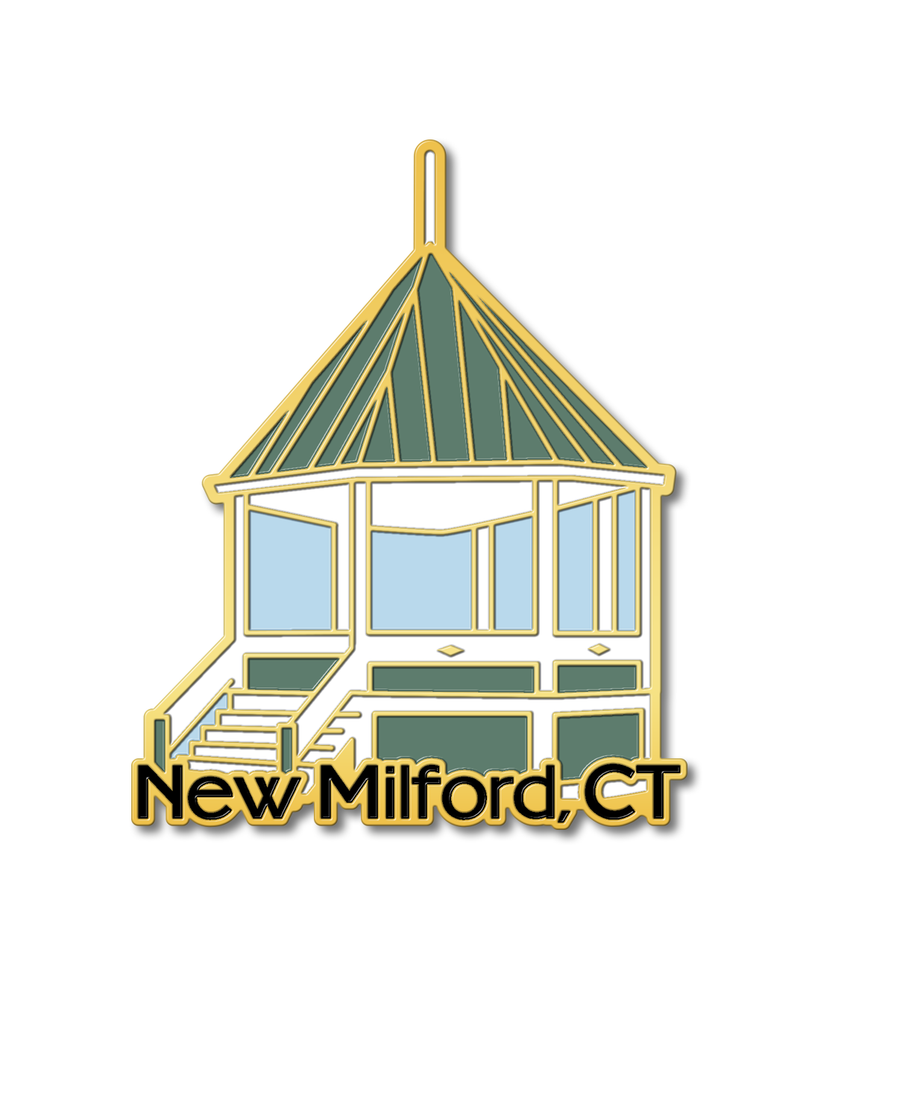 new milford gazebo pin