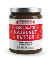 vegan chocolate hazelnut butter