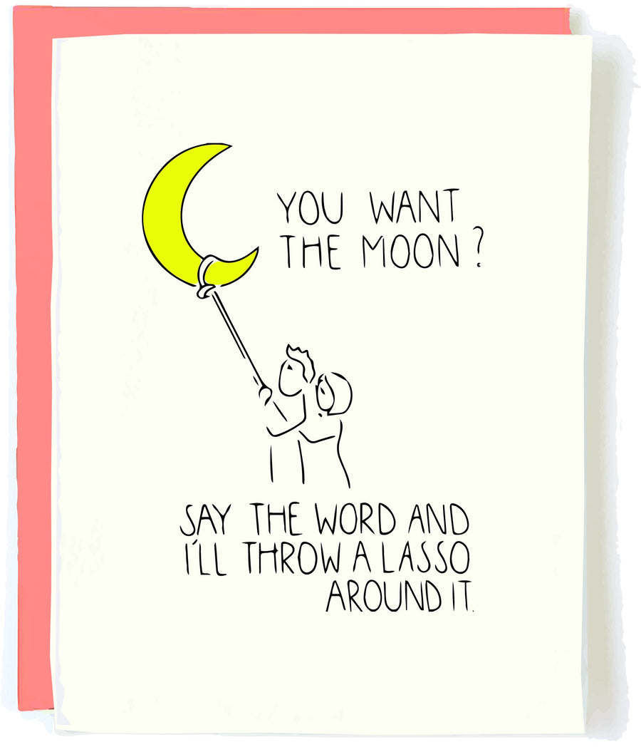 lasso the moon card