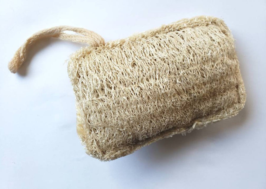 natural bath loofah