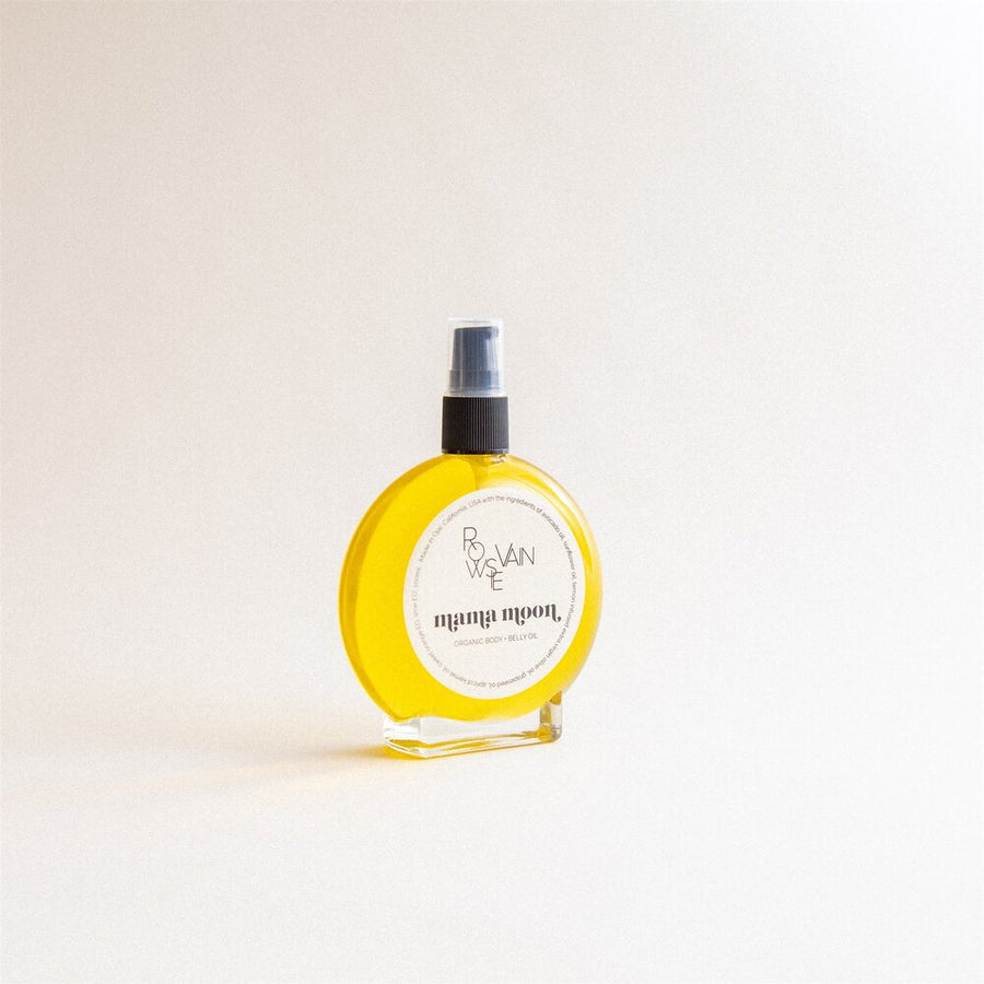 mama body belly oil