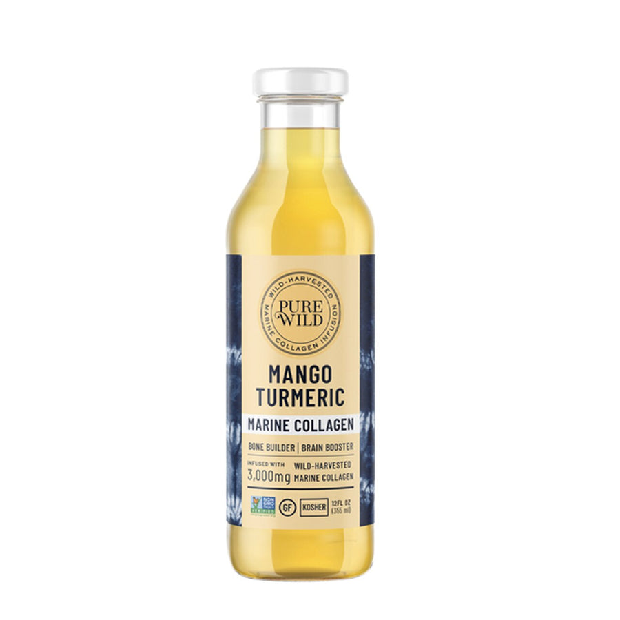 mango turmeric marine collagen drink