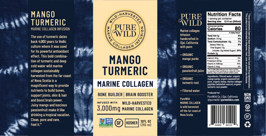 marine collagen drink