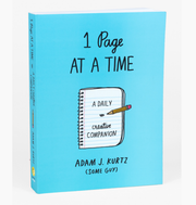 One Page at a Time Book