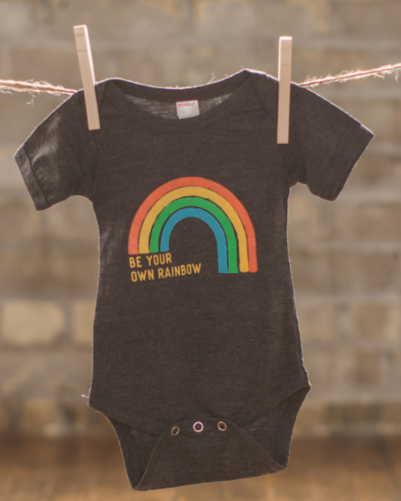 Be Your Own Rainbow Onesie